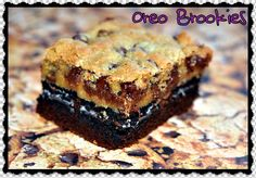 Hugs & CookiesXOXO: OREO BROOKIES!!!! THREE LAYERS OF FABULOUS!