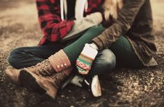 outfits, winter, fall clothes, autumn, green pants