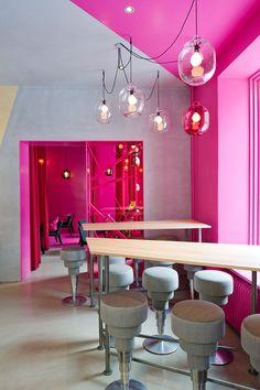 Café Foam, Stockholm. #architecture #design #interiordesign #restaurant #retaildesign #commercialdesign #cafe
