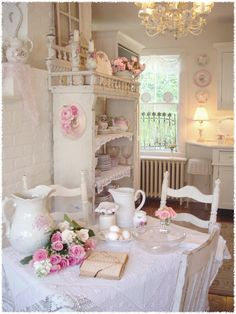 Shabby Chic #Cottage #Decorating