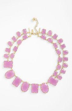 kate spade new york confetti collar necklace