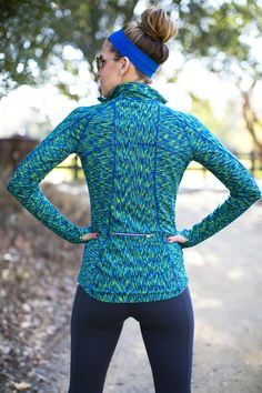 Buying bright new workout gear for spring will give you some motivation back.