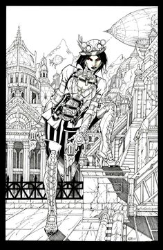 Lady Mechanika by Oliver Nome