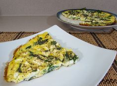 Spinach and Feta Frittata for a budget friendly #SundaySupper