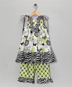 Sew Childish: Fun patterns for this babydoll tunic & pants set