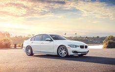 Car White BMW 3 Series Sedan 328i City HD Wallpaper - ZoomWalls
