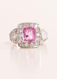Vintage Pink Sapphire