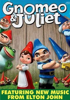 Gnomeo and Juliet (2011) This animated family comedy transports Shakespeare's classic tale of forbidden romance between two star-crossed lovers from warring families to the unlikely and irreverent world of garden gnomes.