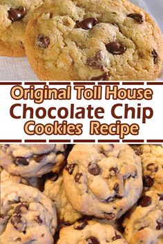 Original Toll House Chocolate Chip Cookies Recipe – Page 2 – Recipes A to Z