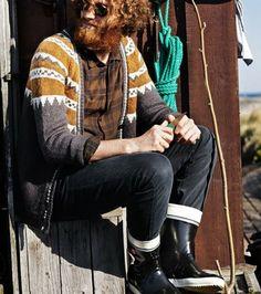 That sweater + that beard. Original: http://www.roadtripinfinland.blogspot.com/