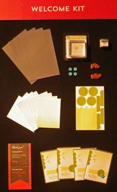 Paper Pumpkin welcome kit