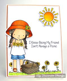 Every Day Is a Picnic stamp set and Die-namics - Julie Dinn #mftstamps
