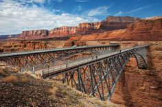Navajo Bridge, Vermillion Cliffs National Monument, Arizona