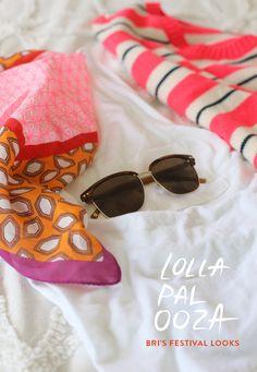 Lollapalooza festival style by @bri emery / designlovefest