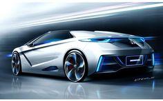 Honda EVster Concept Sports Car