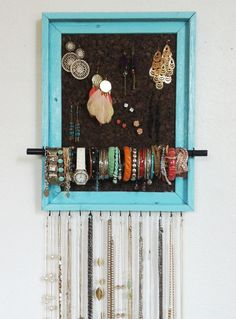 12x16 Custom PAINTED Jewelry Organizer by AfterTheLeavesFall, $57.00