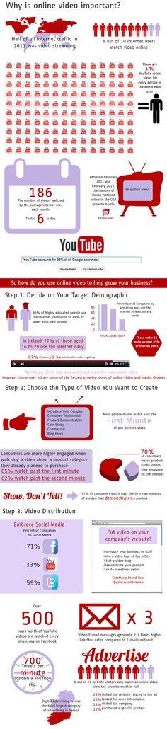 INFOGRAPHIC: Online Video Infographics