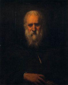Tintoretto, autoritratto (ca. 1585, Galleria degli Uffizi, Firenze)