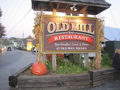 The Old Mill Restaurant is a favorite place you won't want to miss in Pigeon Forge