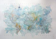 great map art