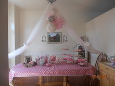 baby girl shower ideas we did everything pink and white