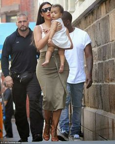 Kim K let's baby North go barefoot, which is best for pre-walking babies #kimandkanye