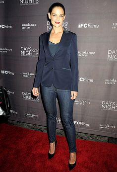 Dress up your jeans like Katie Holmes!