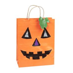 Duck Tape Jack o Lantern Treat Bag