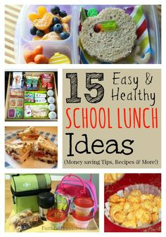 Healthy School Lunch Ideas and Money Saving Tips | Faithful Provisions