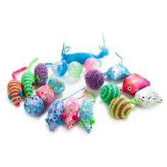 Grreat Choice™ 18-Pack Ball/Mice Cat Toys - PetSmart