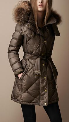 Burberry Brit Down-Filled Puffer