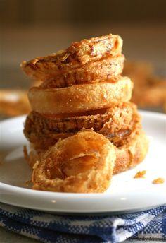 Cornmeal-Fried Onion Rings