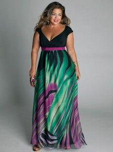 plus size maxi dress from igigi.com