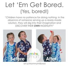 This summer, let 'em get bored!  The surprising benefits of boredom... #parentingtips