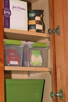 Project Scentsy: Organizing your Scentsy stash ;)