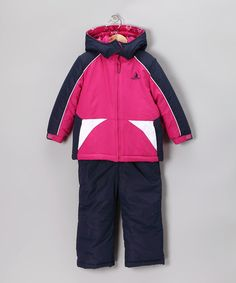 Take a look at this Berry Jacket & Bib Pants - Infant by Rugged Bear on #zulily today!