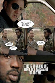 Shotgun! Walking Dead Governor zombies LOL meme funny