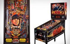 AC DC Stern Pinball Machine