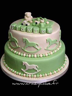 Christening cake, via Flickr.