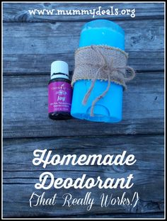 Homemade Deodorant That Really Works