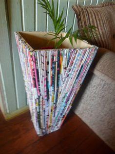 vaso reciclado