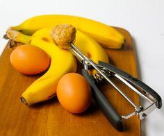 Grain-Free Banana Pancakes - only 3 ingredients.