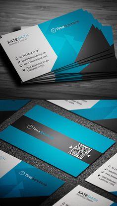Professional Business Card #businesscards #businesscardtemplates #printready #corporatedesign