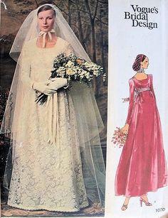 Vintage Vogue Bridal Design pattern