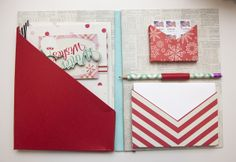 Holiday Stationery by Ashley Cannon Newell