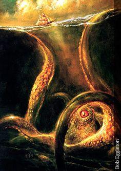 Kraken - Seres Mitológicos y Fantásticos
