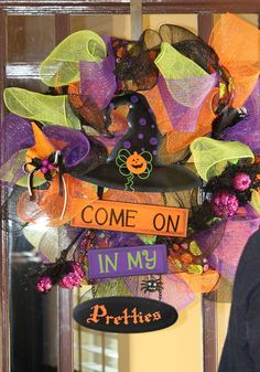 Welcome Sign for Halloween #halloween #sign