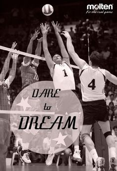 Volleyball Inspiration for your Monday from Molten USA