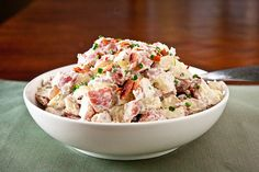not sure why i am fascinated with potato salads
