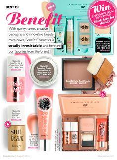 Best Of Benefit Cosmetics